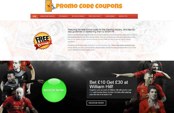 Promo Code Coupons.co.uk